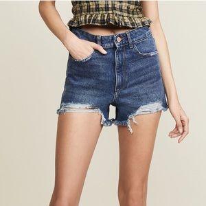NWT DL1961 Cleo High Rise Shorts